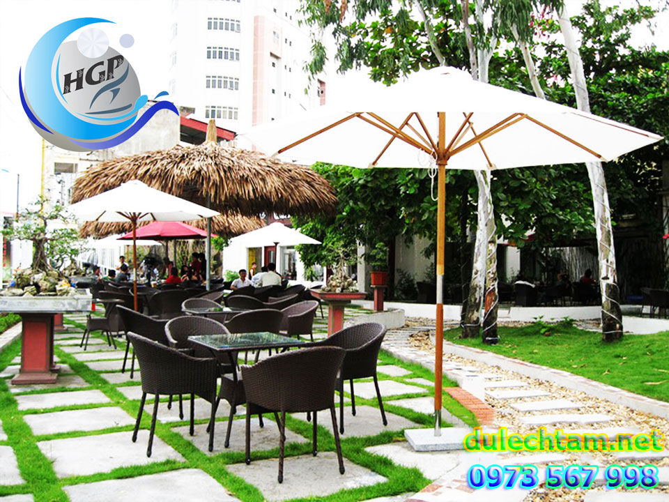 Bảng Giá Bán Dù Che Nắng Mưa Ngoài Trời Quán Cà Phê, Dù Che Cafe