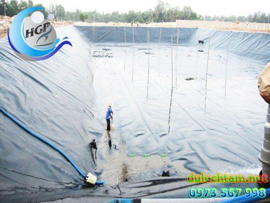 Báo Gía Bạt HDPE Lót Ao Hồ Chứa Nước Nuôi Tôm Cá Gía Rẻ Tại Nha Trang