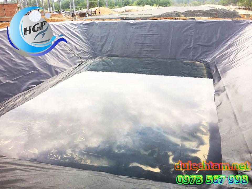 Bạt Nhựa HDPE Lót Ao Hồ Chứa Nước Tưới Cây