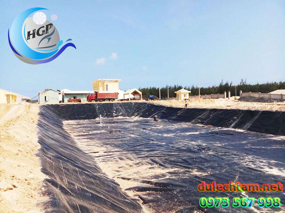Báo Gía Bạt HDPE Lót Ao Hồ Chứa Nước Nuôi Cá Gía Rẻ Tại Trà Vinh