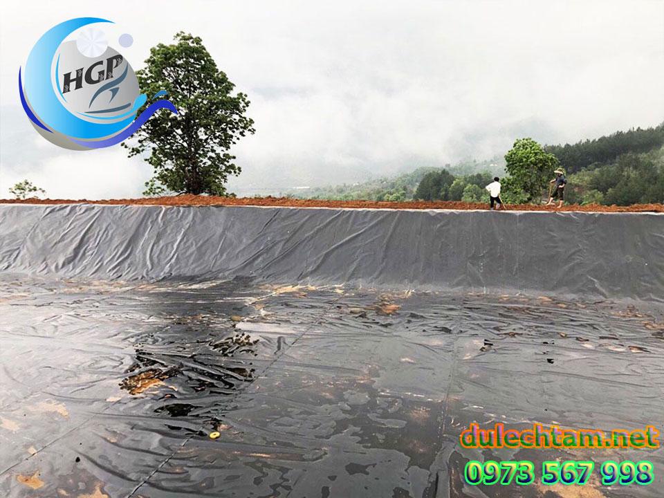 Báo Gía Bạt HDPE Lót Ao Hồ Chứa Nước Nuôi Cá Gía Rẻ Tại Đắk Lắk