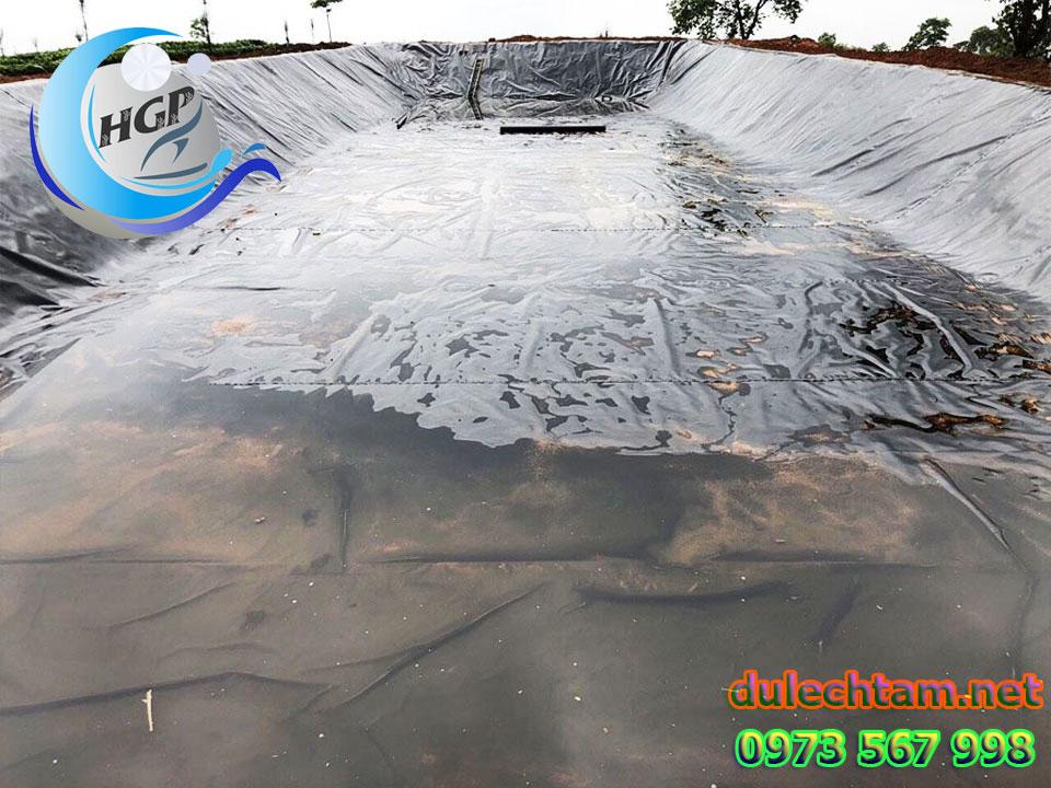 Báo Gía Bạt HDPE Lót Ao Hồ Chứa Nước Nuôi Cá Gía Rẻ Tại Đắk Nông