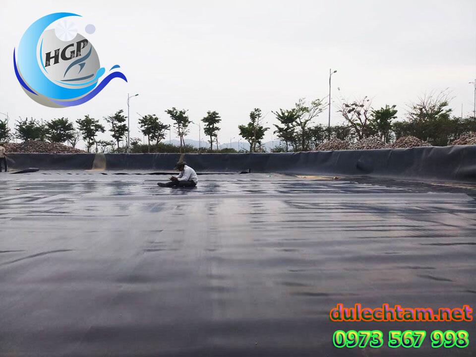 Báo Gía Bạt HDPE Lót Ao Hồ Chứa Nước Nuôi Tôm Cá Gía Rẻ Tại Vũng Tàu