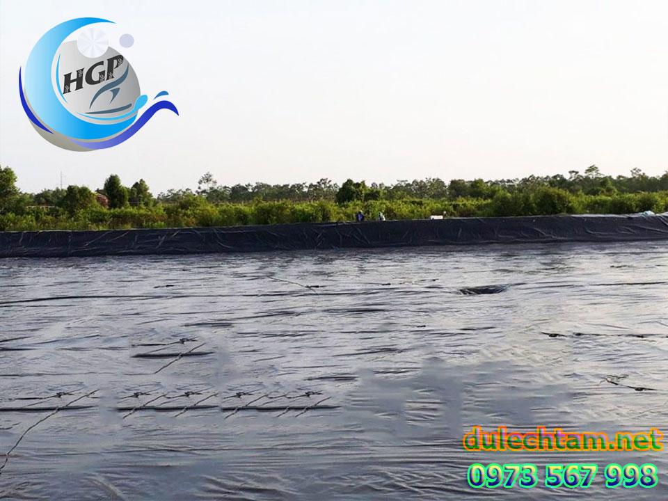 Báo Gía Bạt HDPE Lót Ao Hồ Chứa Nước Nuôi Tôm Cá Gía Rẻ Tại Khánh Hòa