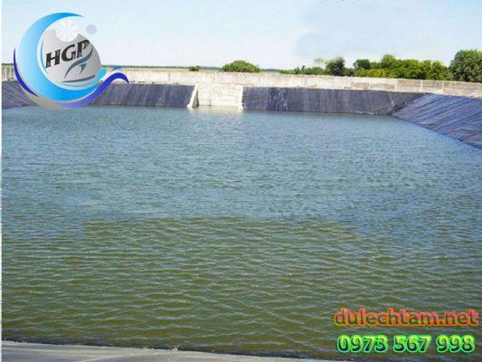 Báo Gía Bạt HDPE Lót Ao Hồ Chứa Nước Nuôi Tôm Cá Gía Rẻ Tại Bà Rịa