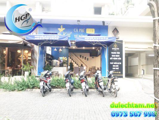 Bán Ô Dù Che Nắng Mưa Ngoài Trời Quán Cafe Tại Đà Lạt - Lâm Đông - Bảo Lộc