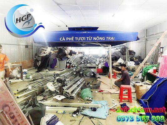 Xưởng Sản Xuất Ô Dù Che Nắng Ngoài Trời Giá Rẻ Tại TP.HCM