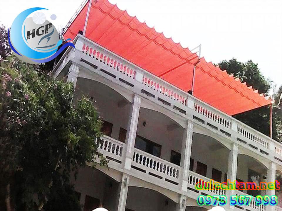 Lắp Đặt Bạt Mái Xếp Lượn Sóng Di Động Gía Rẻ Tại TPHCM