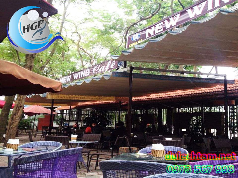 Lắp Đặt Mái Che Di Động Quán Cafe Giá Rẻ Tại TPHCM